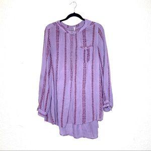 Free People Tops - Free People Shibori magic pullover flowy tunic top